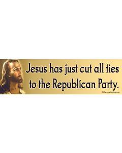 Jesus Has Cut all Ties