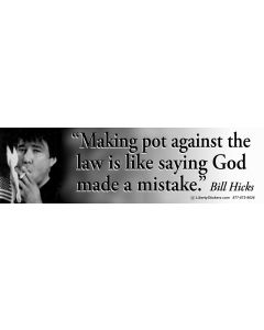Making Pot Against the Law (Bill Hicks)