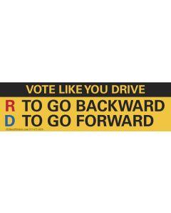 Vote Like You Drive